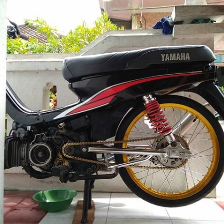 Modifikasi Yamaha jupier z
