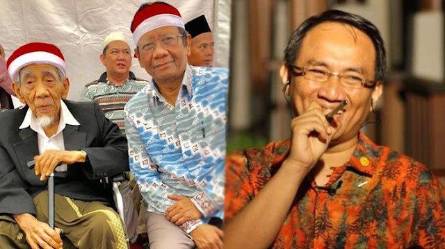Andi Arief Kecewa Mahfud MD Hadir di Apel Kebangsaan yang Dananya dari APBD 18 M
