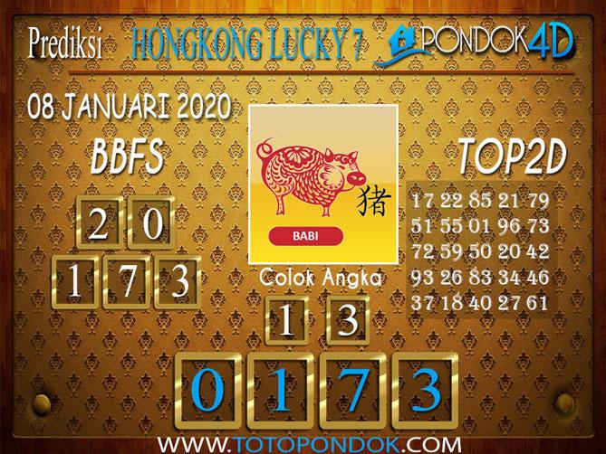 Prediksi Togel HONGKONG LUCKY7 PONDOK4D 08 JANUARI 2020