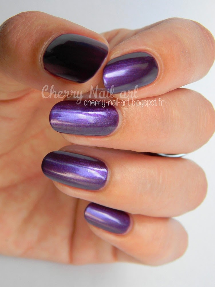 vernis city color auchan violet