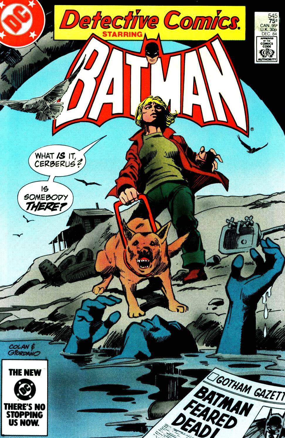 Detective Comics (1937) 545 Page 0