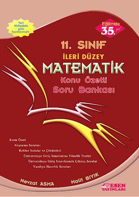 Esen 11. Sınıf İleri Düzey Matematik Soru Bankası PDF indir