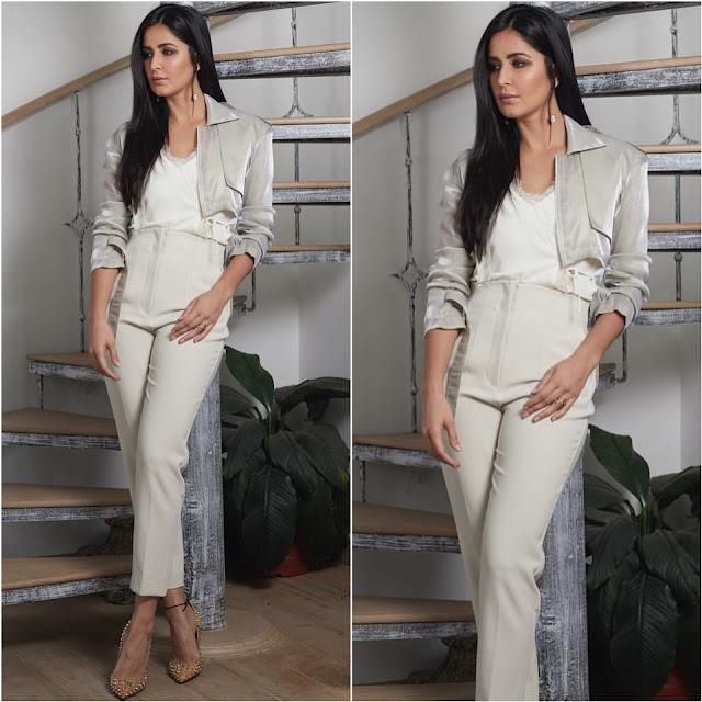 Katrina Kaif in Esse Clothing and Zara