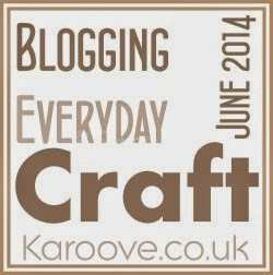craft/blog every day in June!