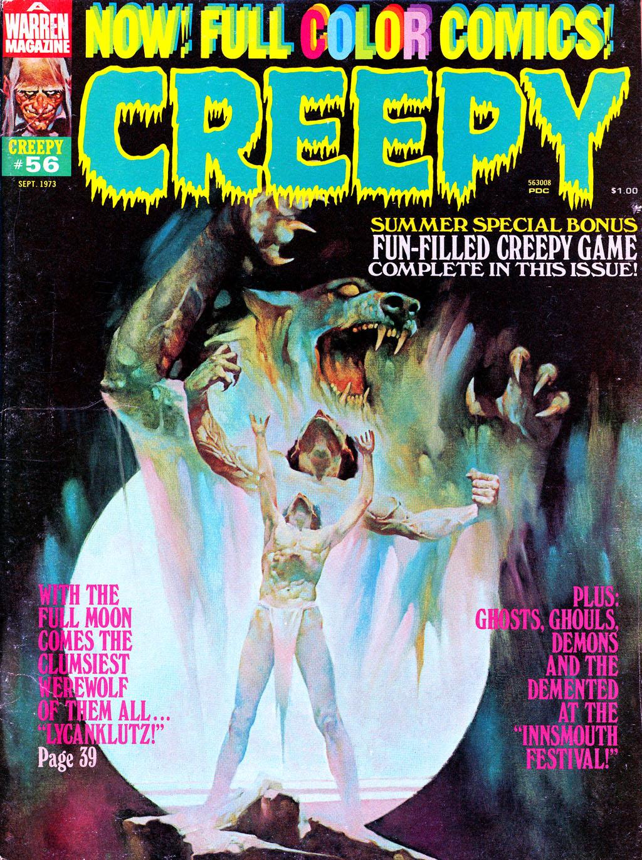 Creepy (1964) 56 Page 1
