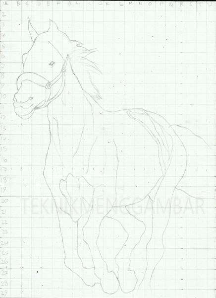 Cara Menggambar Kuda : menggambar, TEKNIK, MENGGAMBAR, DENGAN, PENSIL