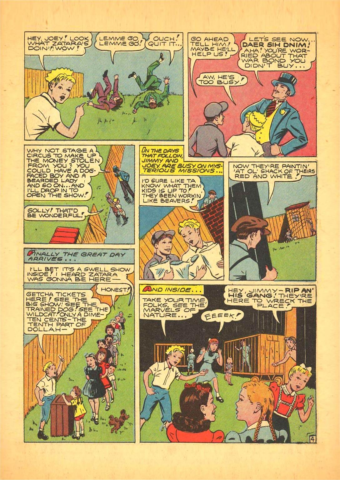 Read online Action Comics (1938) comic -  Issue #66 - 52