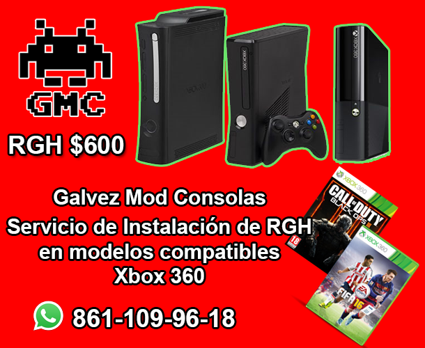 Galvez Mod Consolas Instalacion De Rgh En Xbox 360