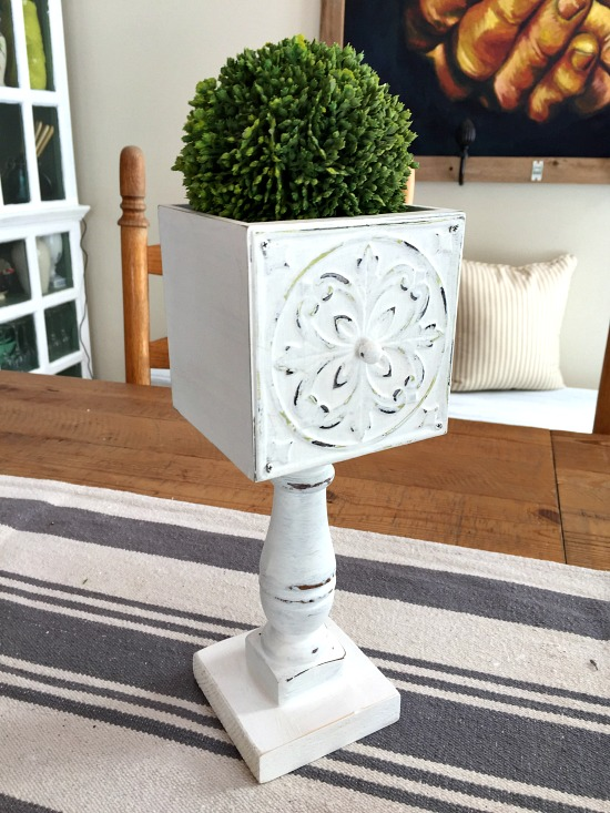 Repurposed Drawer Pedestal Dish