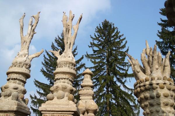 drôme hauterives palais idéal facteur cheval détail façade est