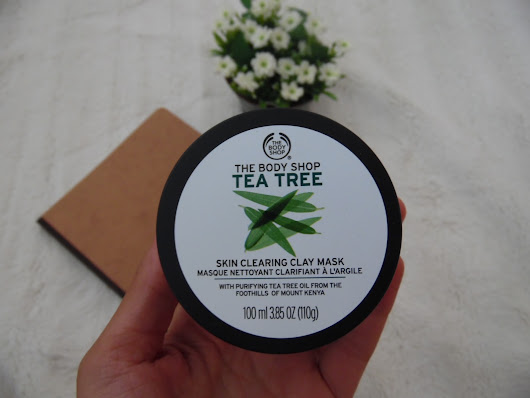 Trust me this is perfection #1 (The Body shop-Tea Tree mask)