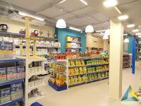 projeto arquitetura decoração iluminação cores loja pet shop Ar Mar