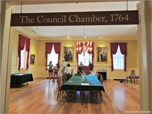 Council Chamber del Old State House