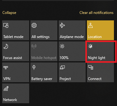 Cara mengaktifkan night light windows 10-gambar 2