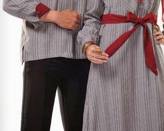 Gambar Busana Baju Lebaran Couple Murah Trend Pasangan Serasi