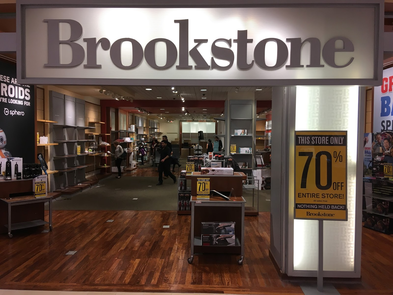 Image result for brookstone closing