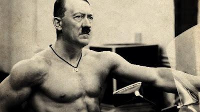 Tubuh atletis Hitler
