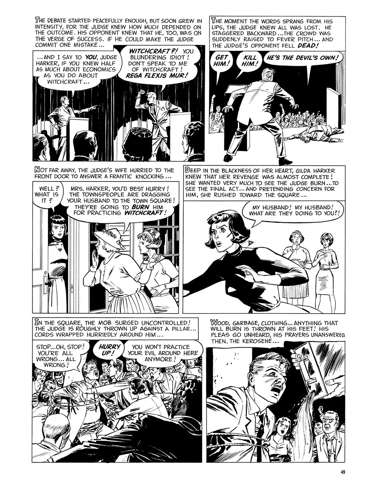 Read online Eerie Archives comic -  Issue # TPB 2 - 50