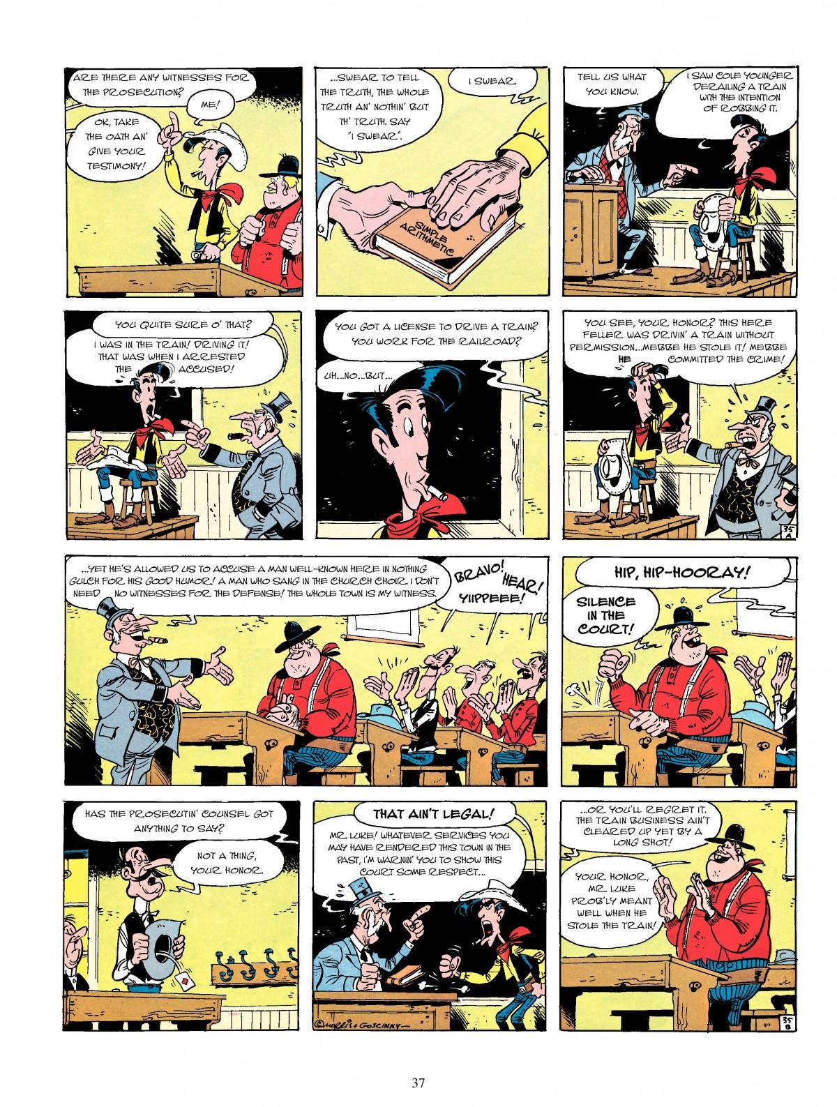 Read online A Lucky Luke Adventure comic -  Issue #4 - 39