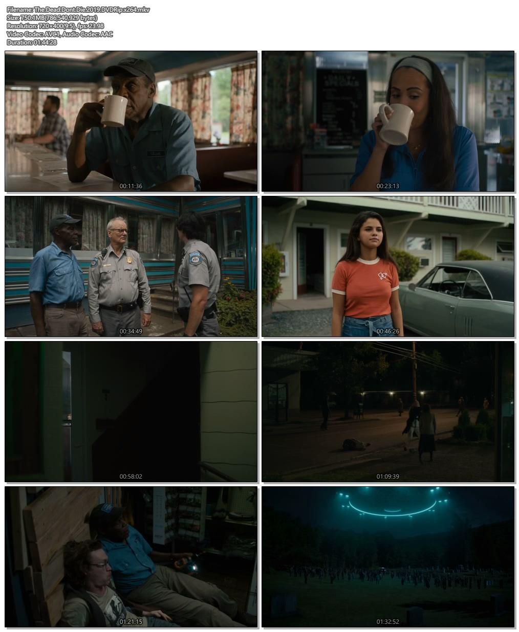 The Dead Dont Die 2019 DVDRip x264 | 480p 300MB | 100MB HEVC Screenshot