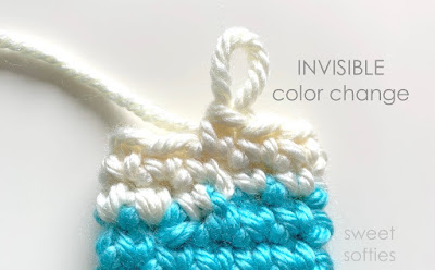 Tutorial: Crocheted Jogless Stripes | NeedleNoodles: Crochet ... | 248x400