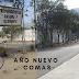 COMAS: FALTA DE LIMPIEZA Y ALUMBRADO PÚBLICOS EN AÑO NUEVO