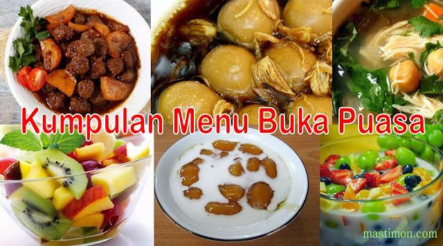Kumpulan menu buka Puasa di bulan Ramadhan 1438 H tahun 2017