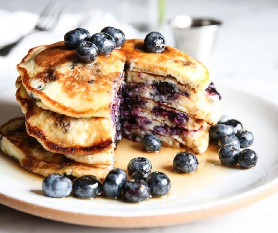 Blueberry Buttermilk Pancakes - food-drink-recipes.com