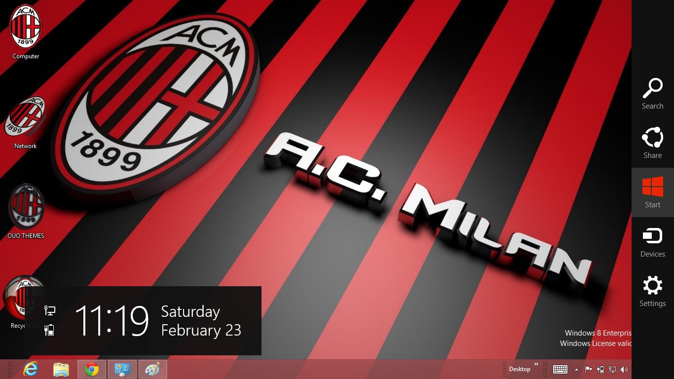 Ac milan football club wallpaper | download gambar.