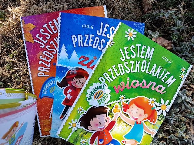 Jestem przedszkolakiem - Agnieszka Antosiewicz - książeczki dla dzieci - ekologiczne gry i zabawy dla dzieci - Wydawnictwo GREG - 22 kwietnia Światowy Dzień Ziemi