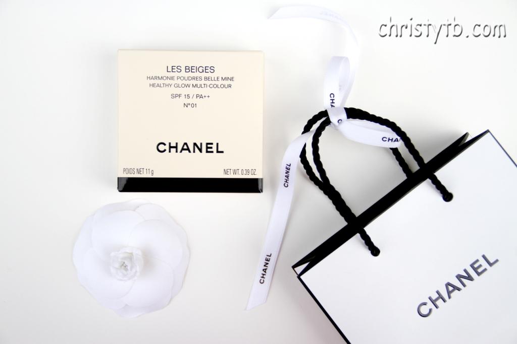 Лимитированная пудра Chanel Les Beiges Healthy Glow Multi-Colour Powder SPF 15 # 01