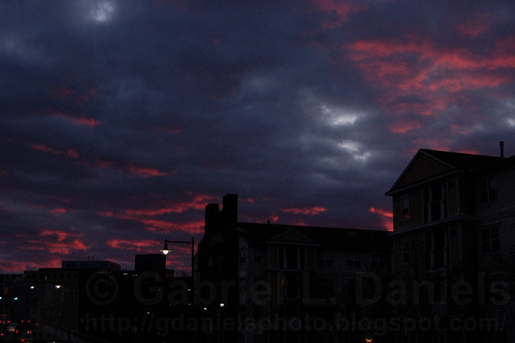 Sunset in Salem, Massachusetts (photo by Gabriel L. Daniels)