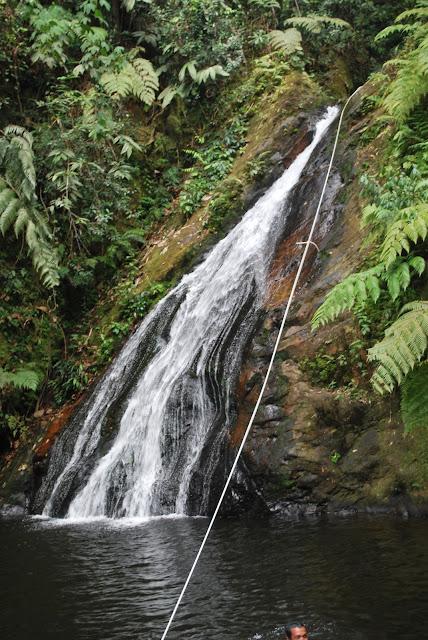 Air Terjun 7 Tingkat Batang Koban
