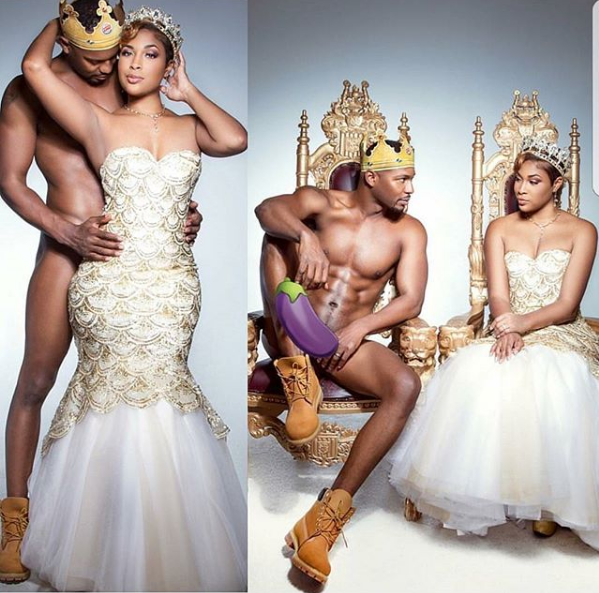 Huh! Guy goes naked for his pre-wedding shoot