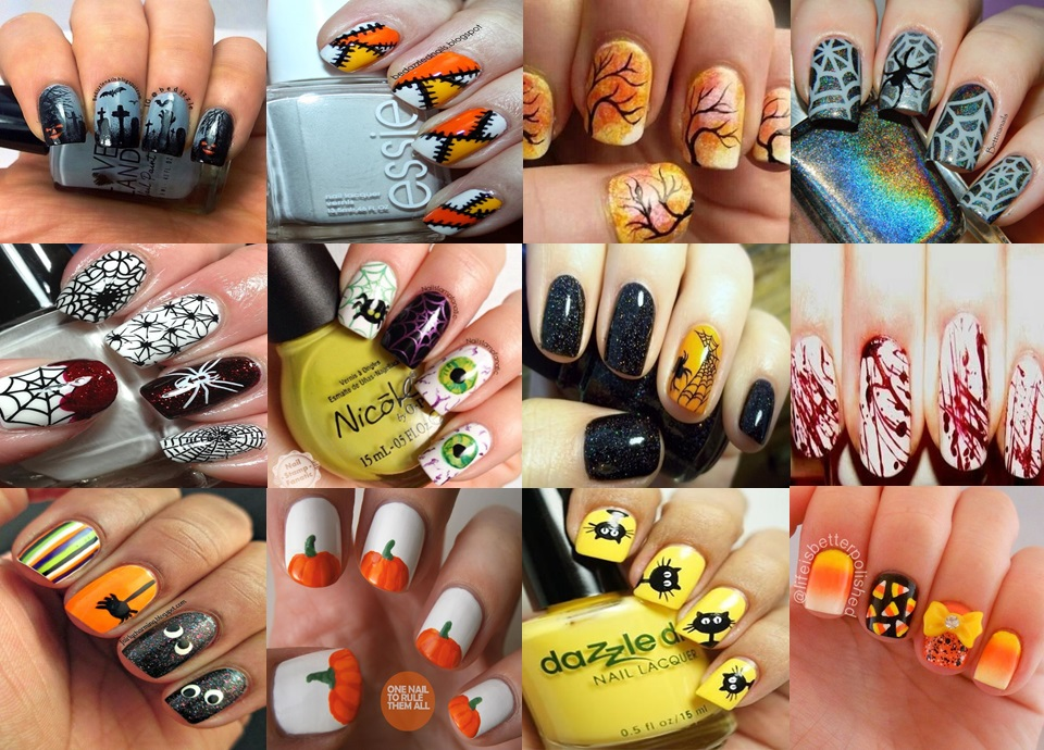 Halloween Nail Art Inspiration 2014