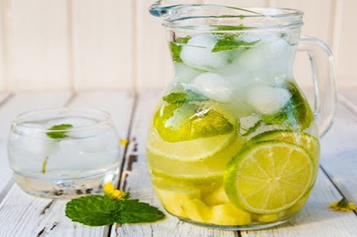Homemade Detox Water for Flat Belly, Craving Control & Cleansing Toxins get into the body through various...