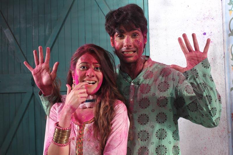 Hiba Nawab as Elaichi and Nikhil Khurana as Pancham on show Jijaji Chhat Per Hain