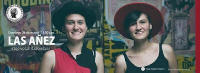 LAS AÑEZ, dúo vocal