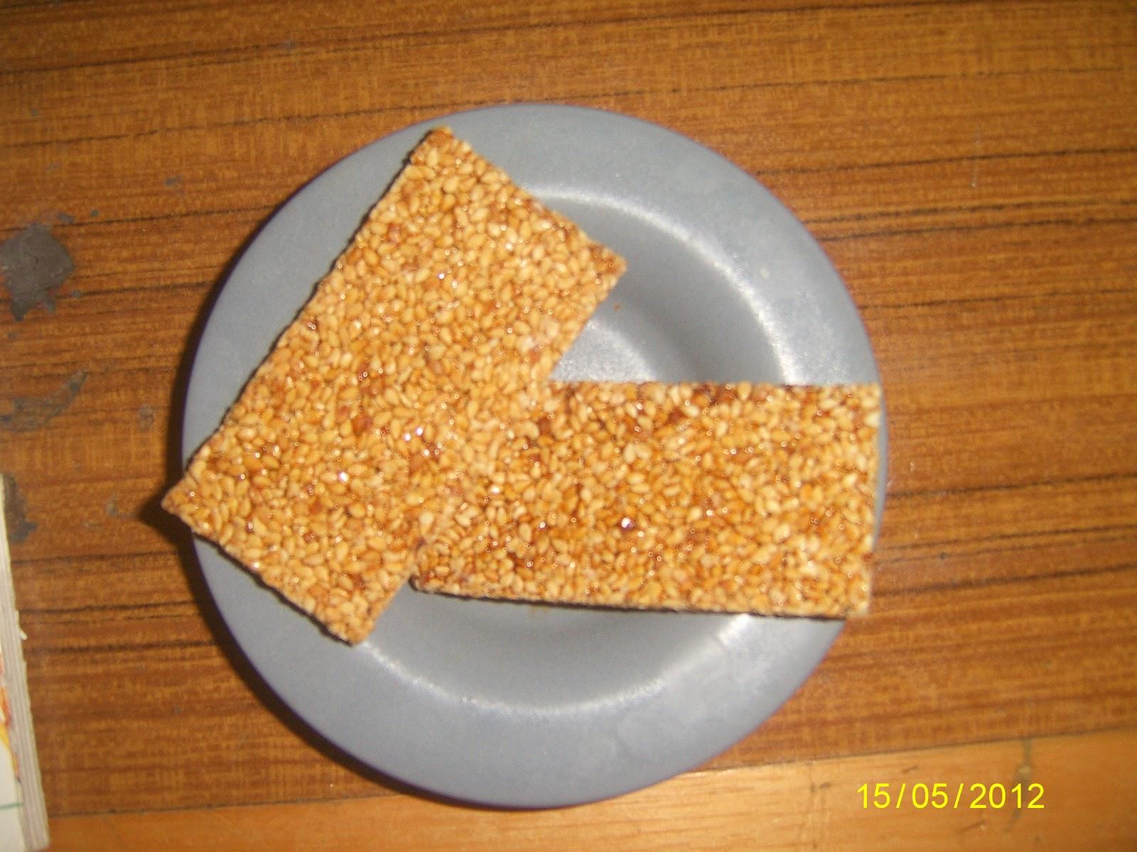 Joyva Sesame Honey Crunch Candy, 1 LB Bag Extra 5% buy ... |Sesame Seed Candy With Cranberries