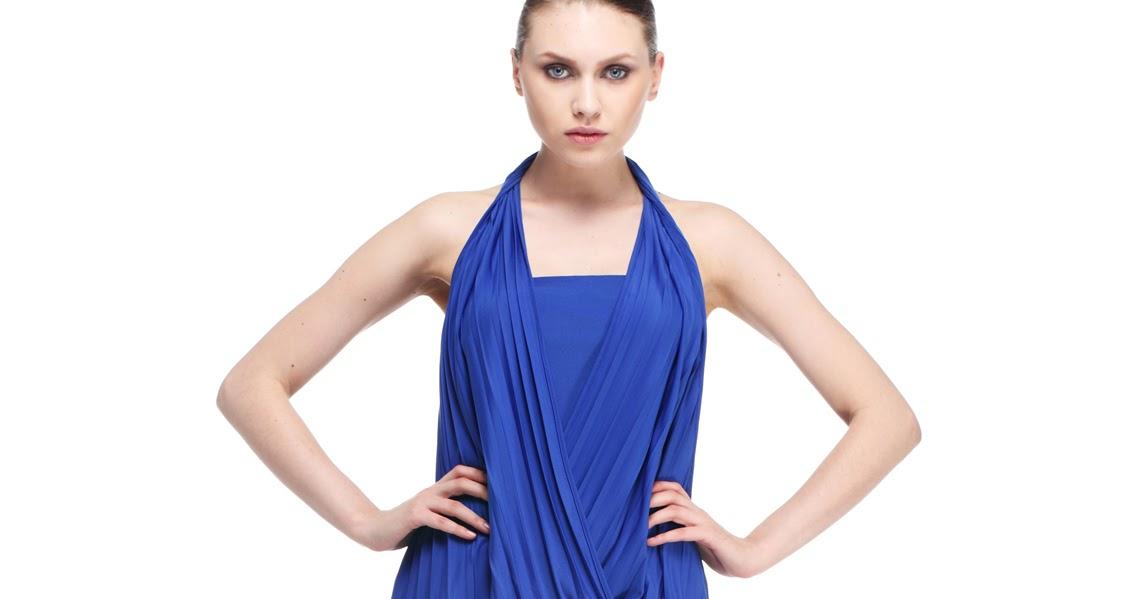 Mavi adil ışık abiye elbise