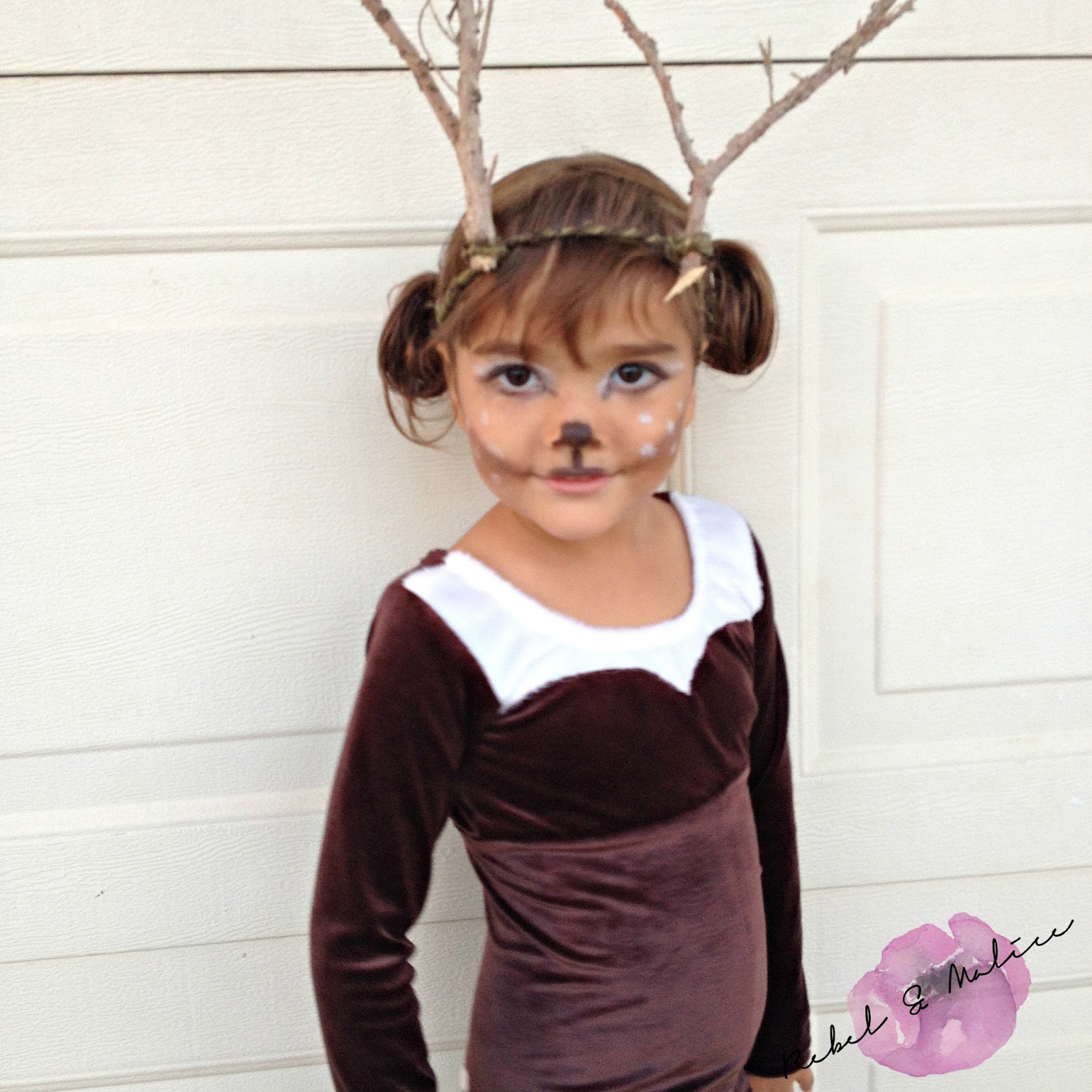 sc 1 st  Rebel u0026 Malice & DIY Deer Costume | Rebel u0026 Malice