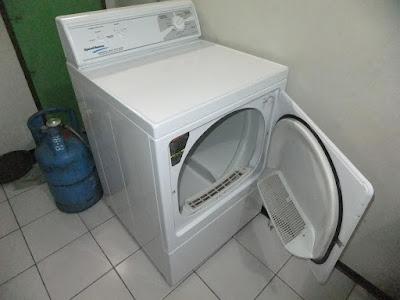 mesin cuci gas