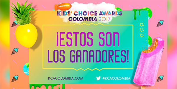 Alfombra-Naranja-KCA-Colombia-2017-ganadores-kids-choice-awards