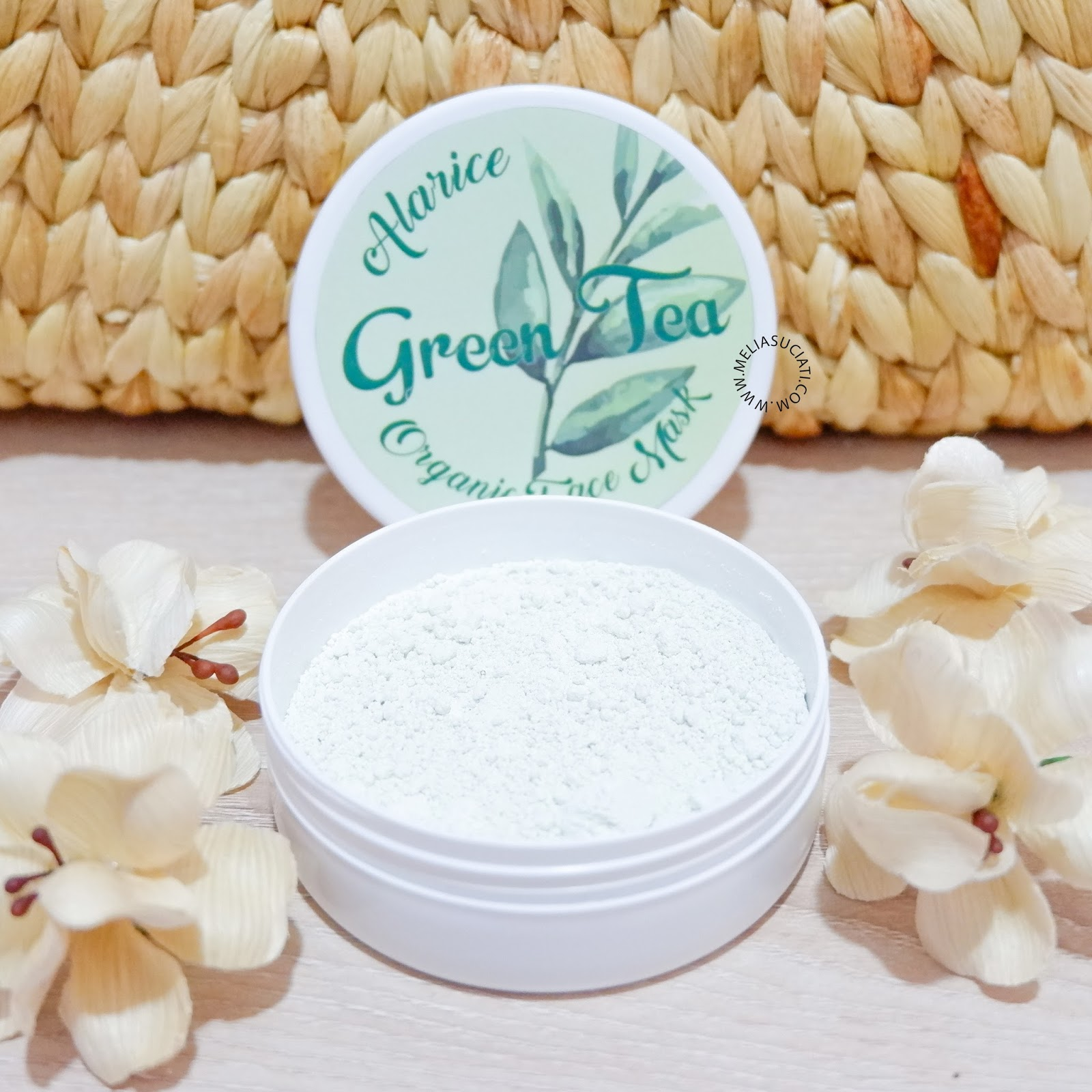 Alarice Organic Face Mask Green Tea For Oily and Acne Skin