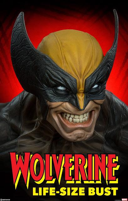 "Figuras: Anuncio del Wolverine Life-Size Bust de ""Marvel Comics"" - Sideshow"