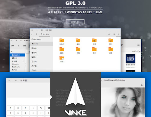 VimixLight Gtk, Windows10 Theme for Linux