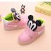 Giày da Mickey nữ trẻ em bán buôn bán sỉ