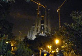 La Sagrada Familia de Gaudí, Barcelona.