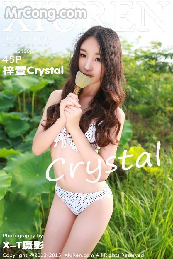 XIUREN No.371: Người mẫu Crystal (梓萱) (46 ảnh)