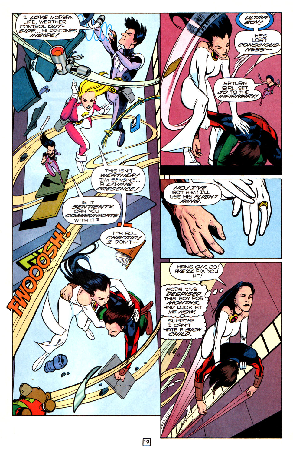 Legion of Super-Heroes (1989) 82 Page 19